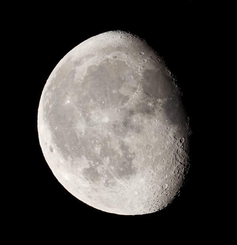 Download Moon stock photo. Image of half, moon, universe, satellite - 23224154
