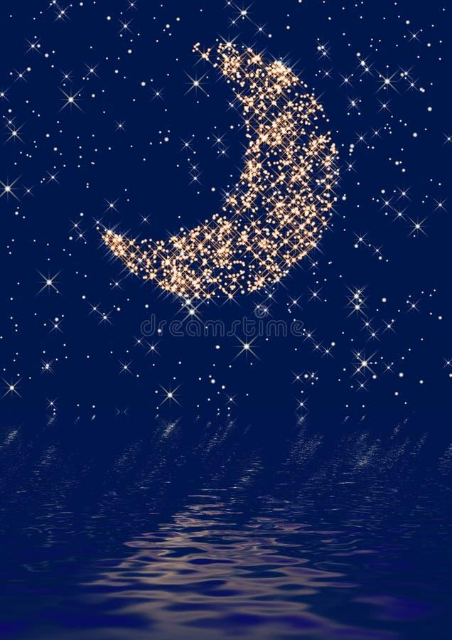 Moon stock illustration