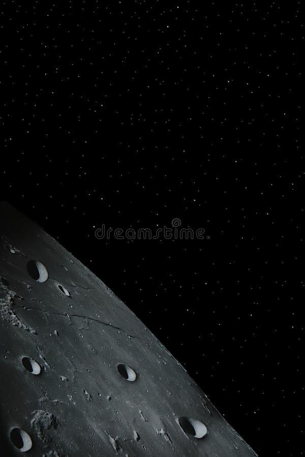 moon 4 royaltyfria foton