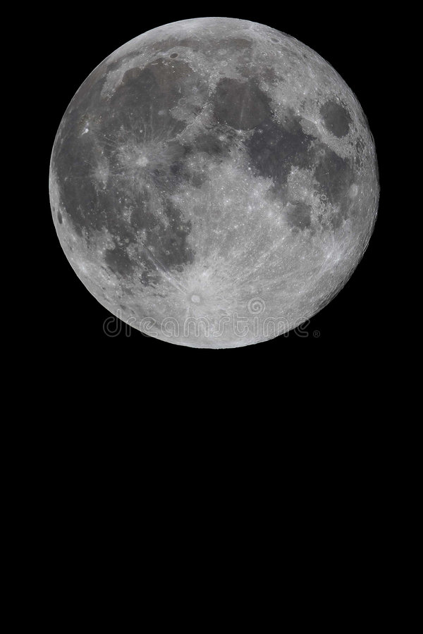 Download Moon stock image. Image of high, night, moonlight, black - 4637085