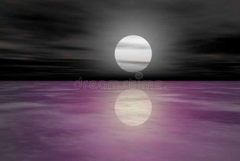 Download Moon stock illustration. Illustration of circle, computer - 881381