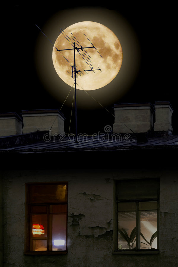 moon στοκ φωτογραφία με δικαίωμα ελεύθερης χρήσης