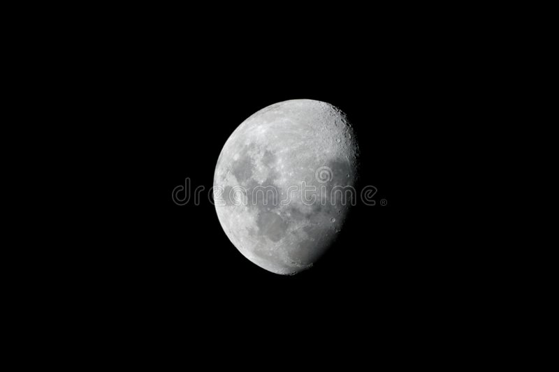 Download Moon stock image. Image of space, armstrong, crater, black - 9293573