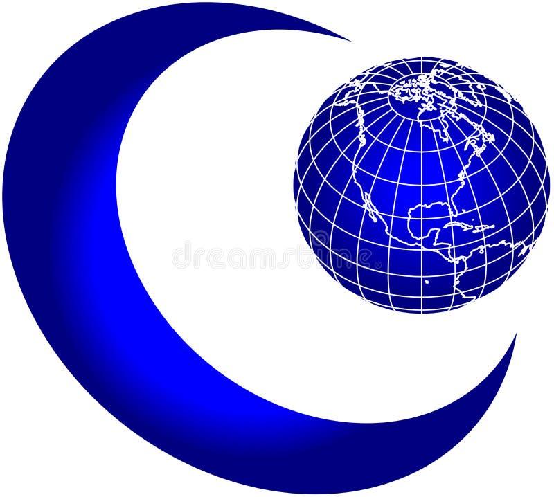 Free Moon And World Globe Royalty Free Stock Photo - 2479035