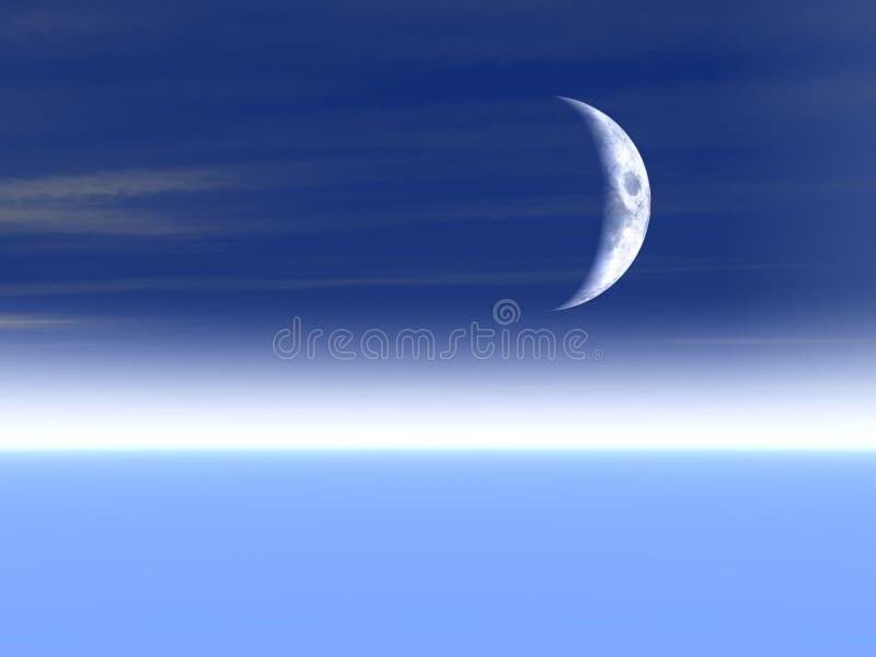 Download Moon Background stock illustration. Illustration of nature - 858454