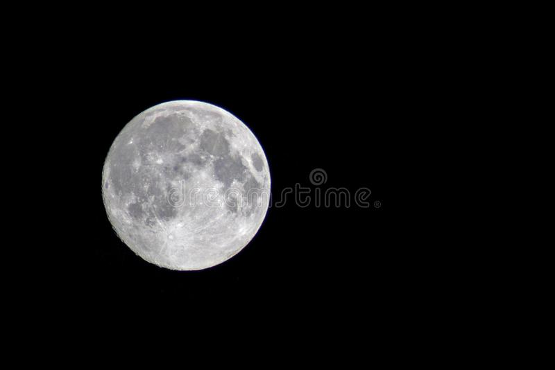 Moon, Black, Black And White, Sky royalty free stock photos