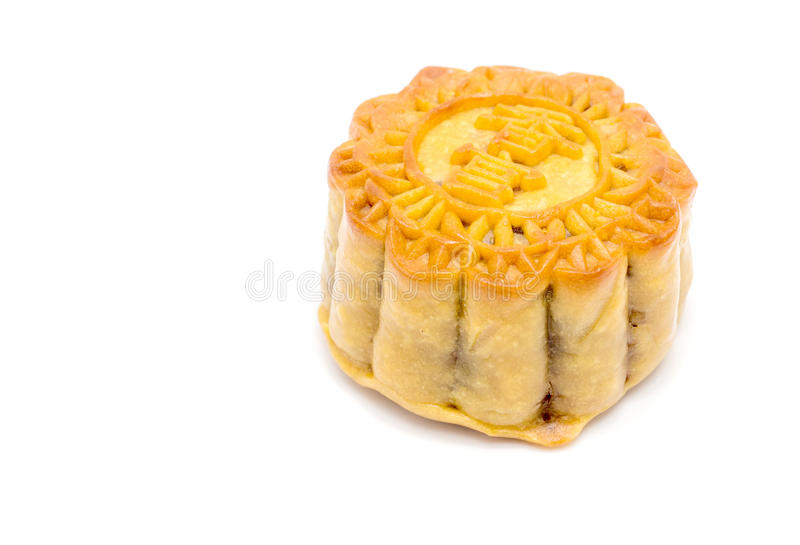 Moon cake dessert chinese style royalty free stock image