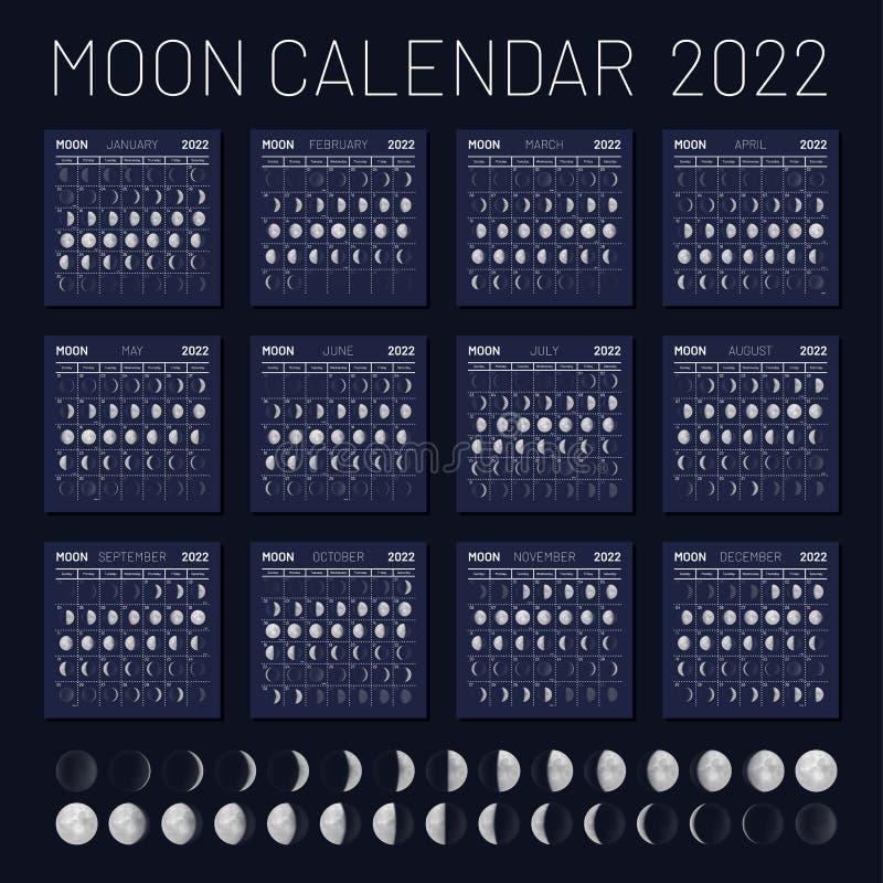 Astrological Moon Calendar 2022.Moon Phase Calendar Stock Illustrations 926 Moon Phase Calendar Stock Illustrations Vectors Clipart Dreamstime