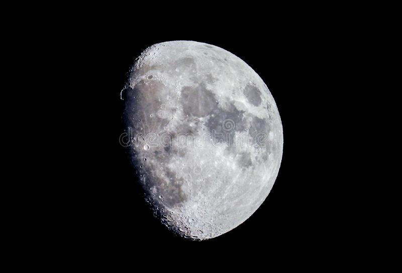 The Moon stock image