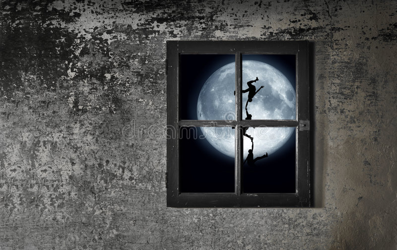 Moon Dance royalty free illustration