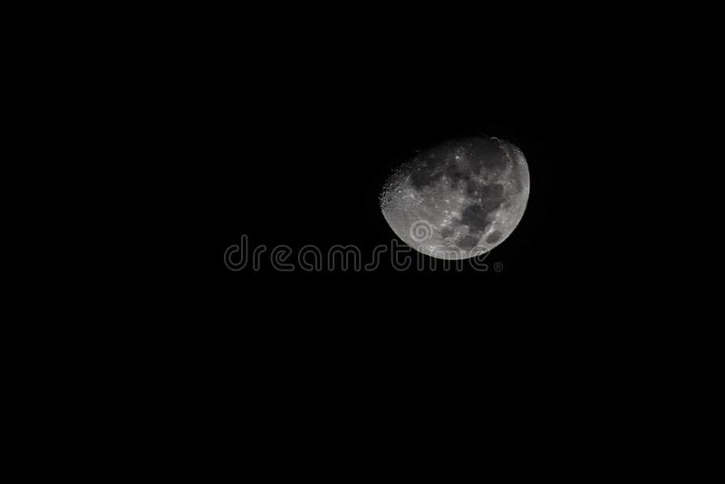 Moon In Dark Skies Free Public Domain Cc0 Image