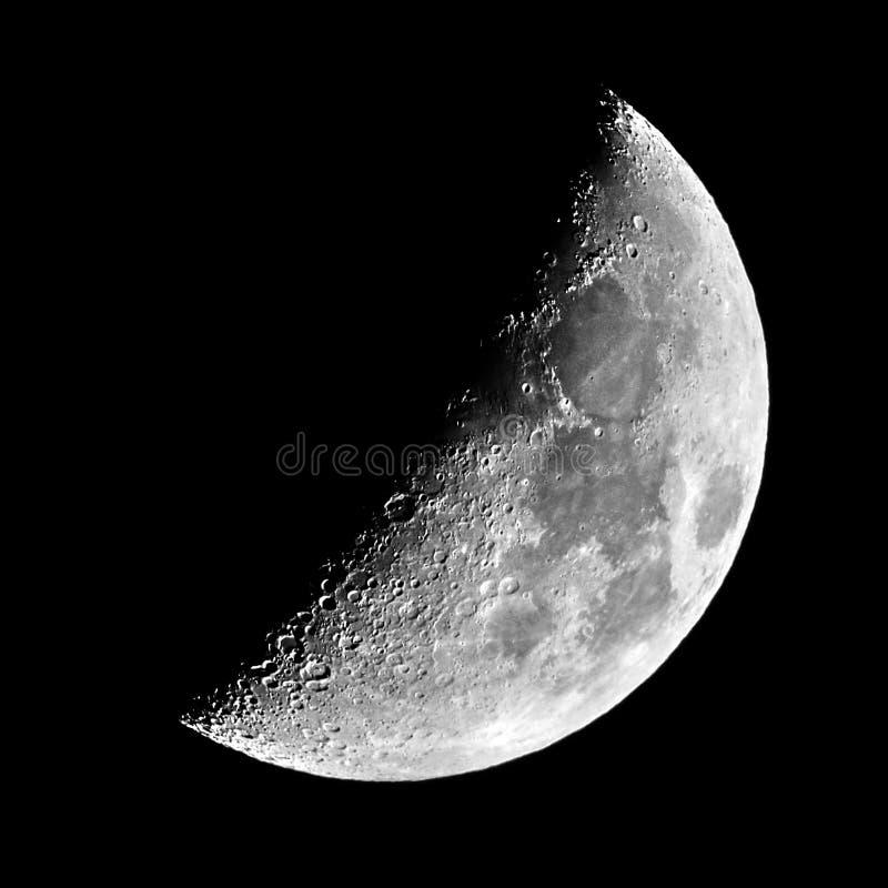 Moon detalis lunar X lunar V objects stock photos