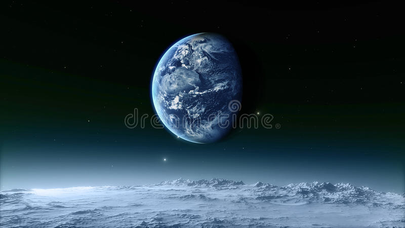 Moon Elements of this image furnished by NASA stock photos