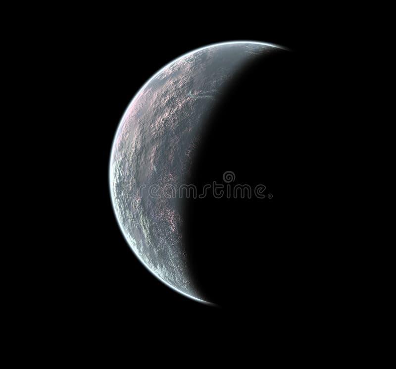 Moon fantasy stock illustration