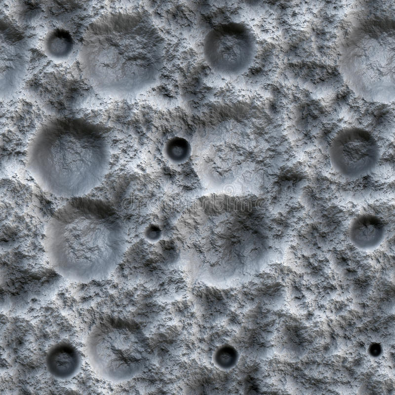 Moon Ground Seamless texture royalty free stock image