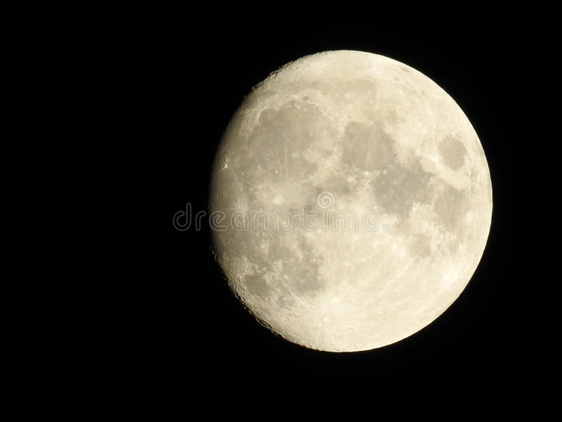 The moon - High quality astrophotography stock images