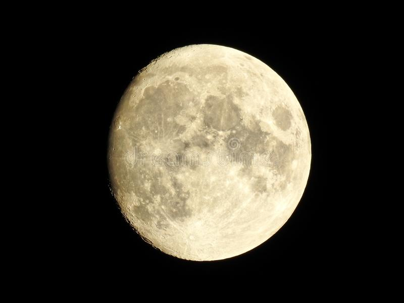 The moon - High quality astrophotography royalty free stock photo