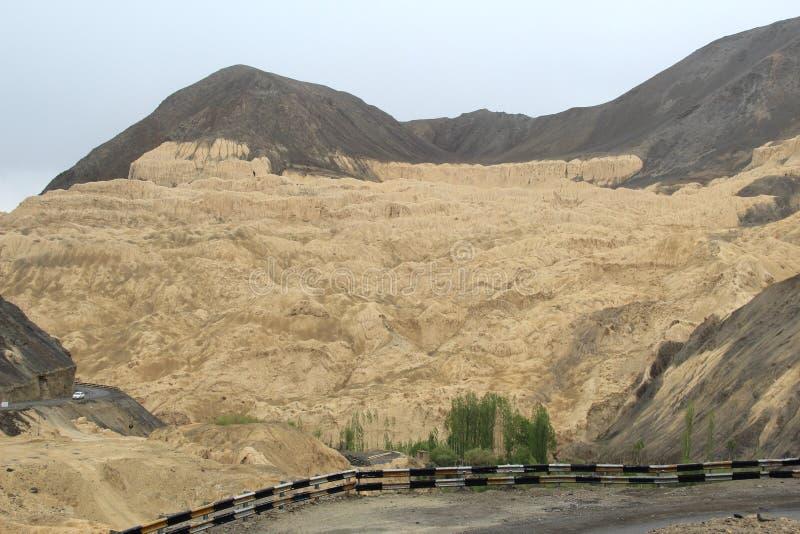 Moon Land In Ladakh-1. royalty free stock photos