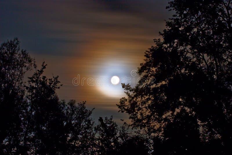 Moon landscape stock photos