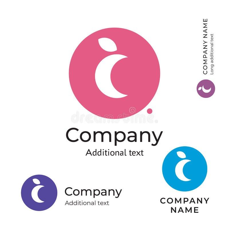 Moon Logo Stylish Beauty Identity Brand Symbol Icon Concept Set Template stock illustration