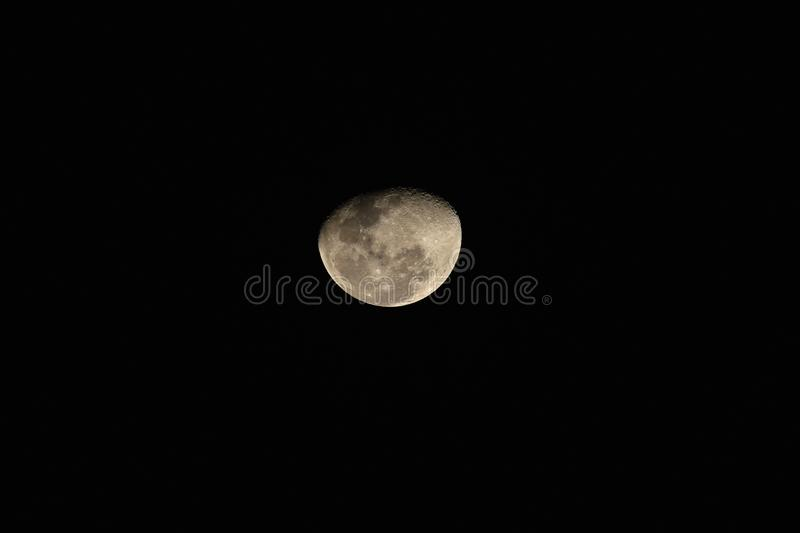 Moon reflects light stock images