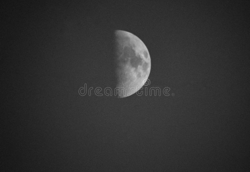 Moon retro style royalty free stock images