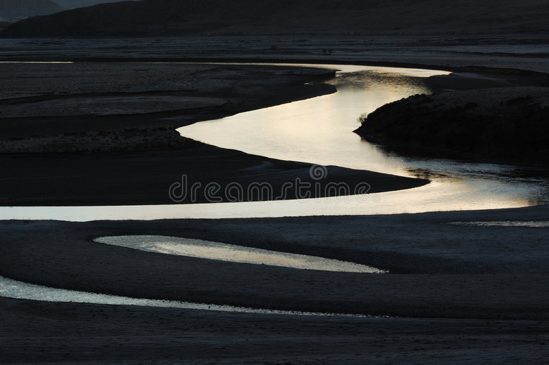 Moon river 3 royalty free stock photography
