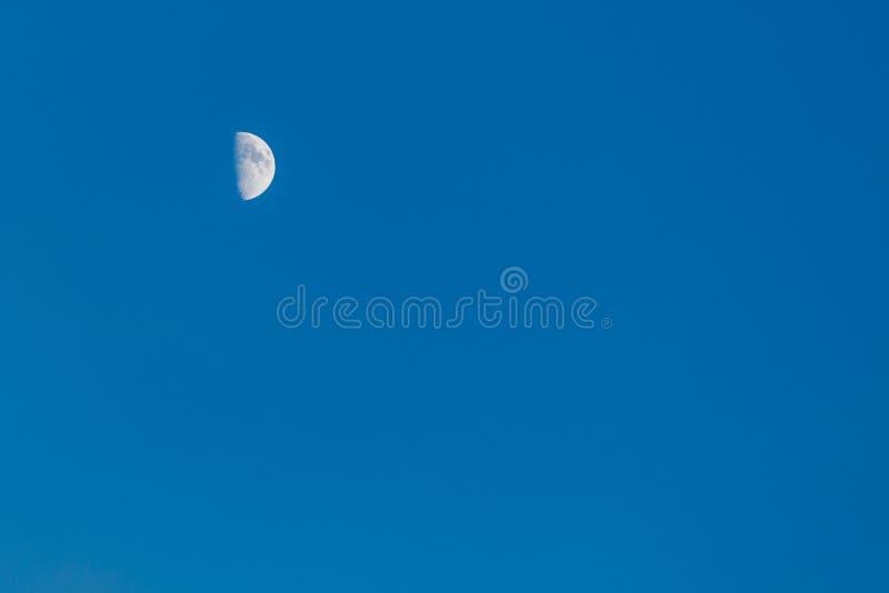 Moon on sky stock photos