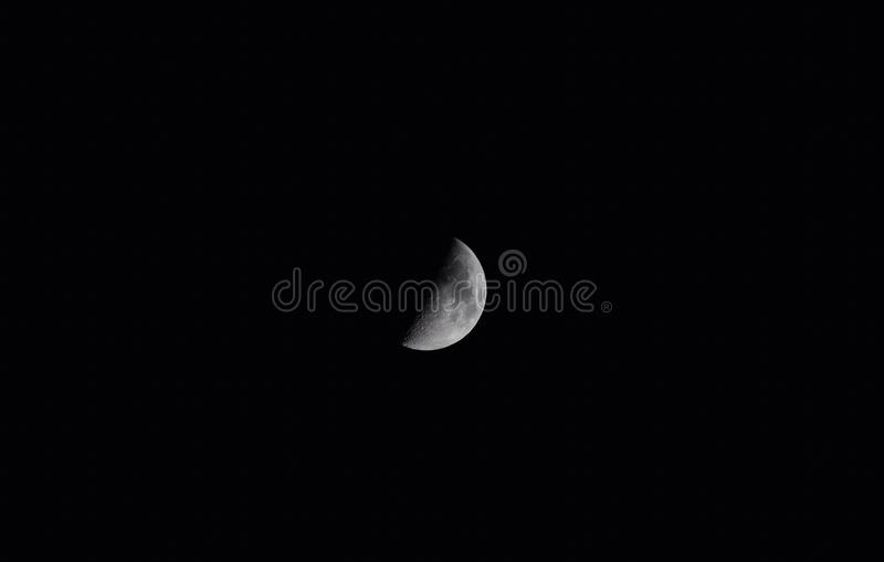 Moon. Space, moon, planet royalty free stock photography