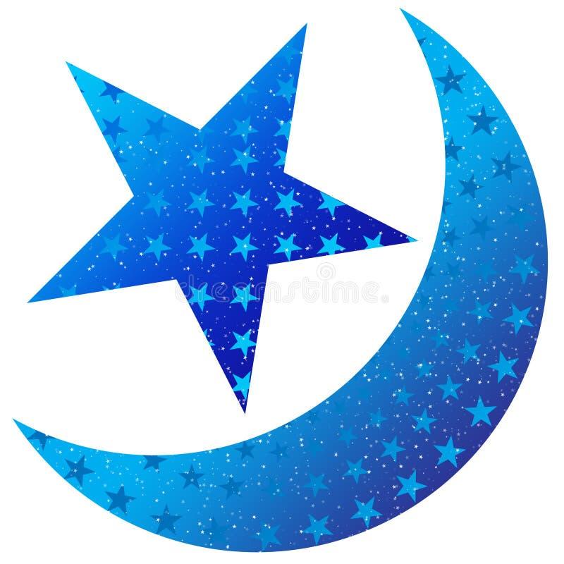 Download Moon Star Dangler stock illustration. Image of promotions - 10629060