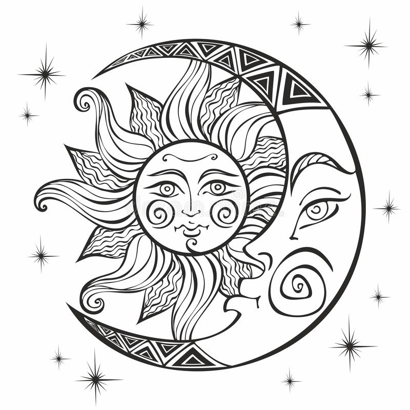 Sun and Moon Coloring Pages for Adults Picture Trend A A Pokemon ... | 800x800