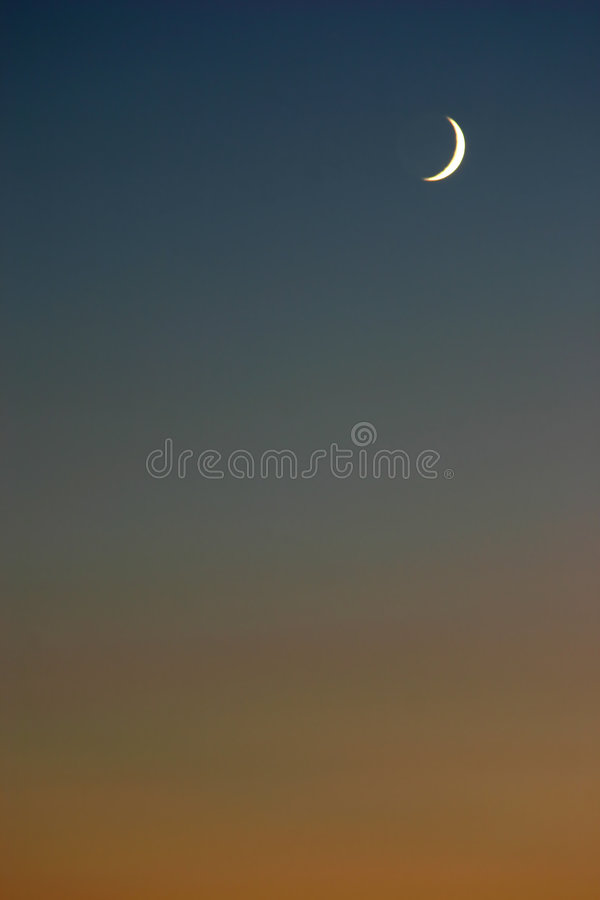Download Moon Sunset Royalty Free Stock Photography - Image: 199297