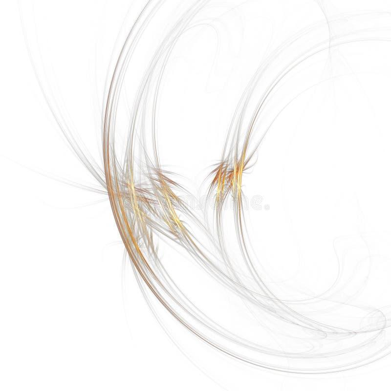 Moon twirl stock illustration