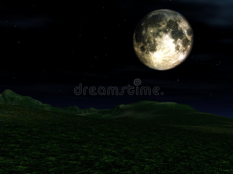 Moon View 10 royalty free stock images