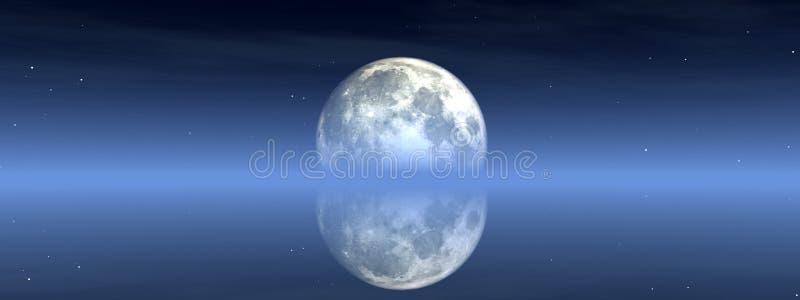 Moon View 2 stock illustration