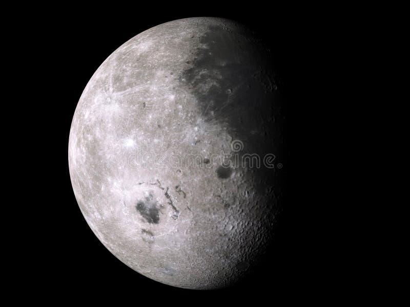 Download Moon XXL stock illustration. Image of meteor, halloween - 25771193