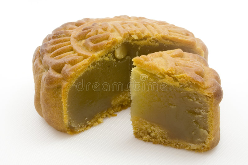 Mooncake image stock