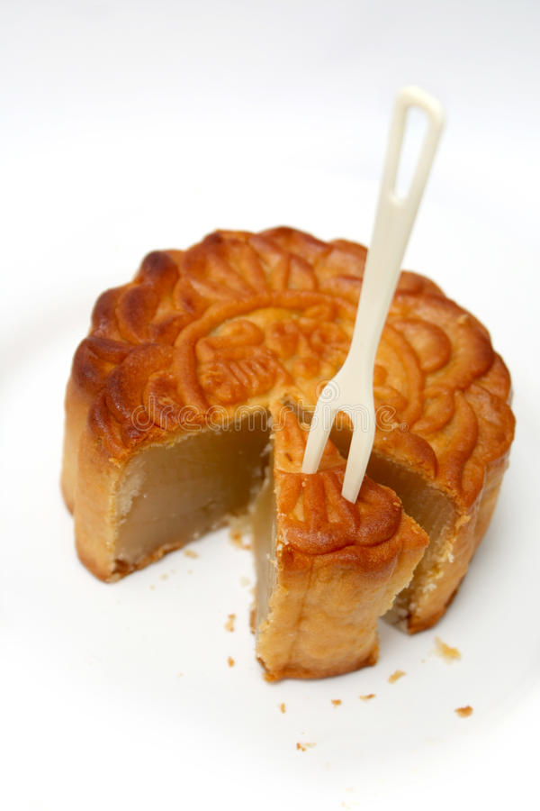 Download Mooncake stock image. Image of baked, seasonal, traditional - 15810167