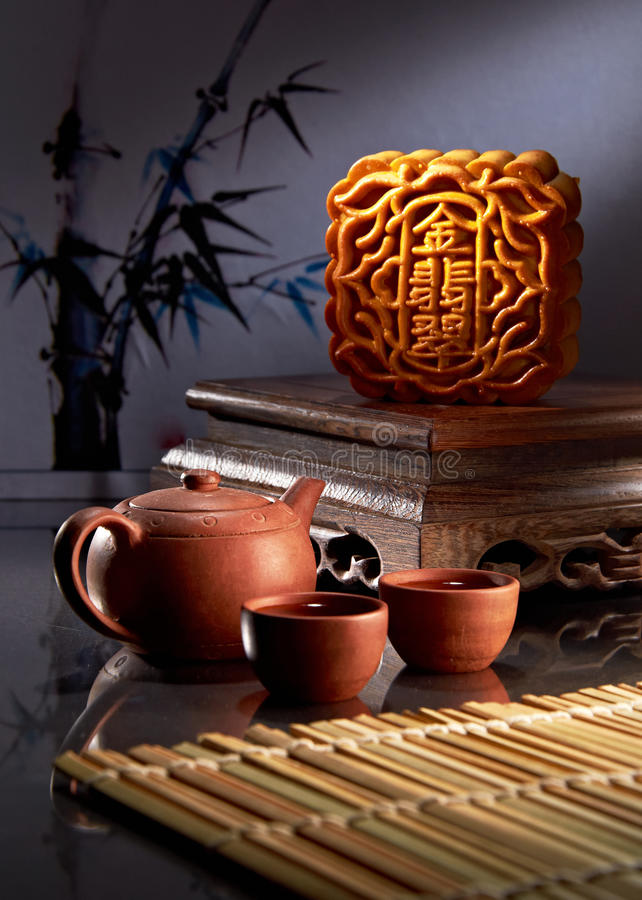 Download Mooncake stock image. Image of feast, celebrate, holiday - 26904053