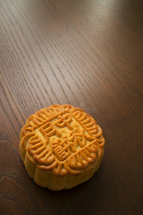 Mooncake, postre chino del festival de mediados de otoño fotos de archivo