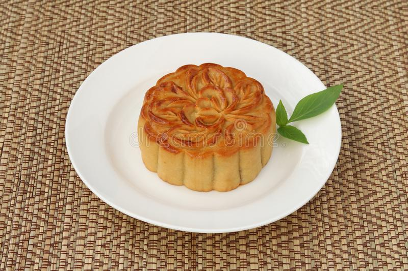 Mooncake for festival royalty free stock image