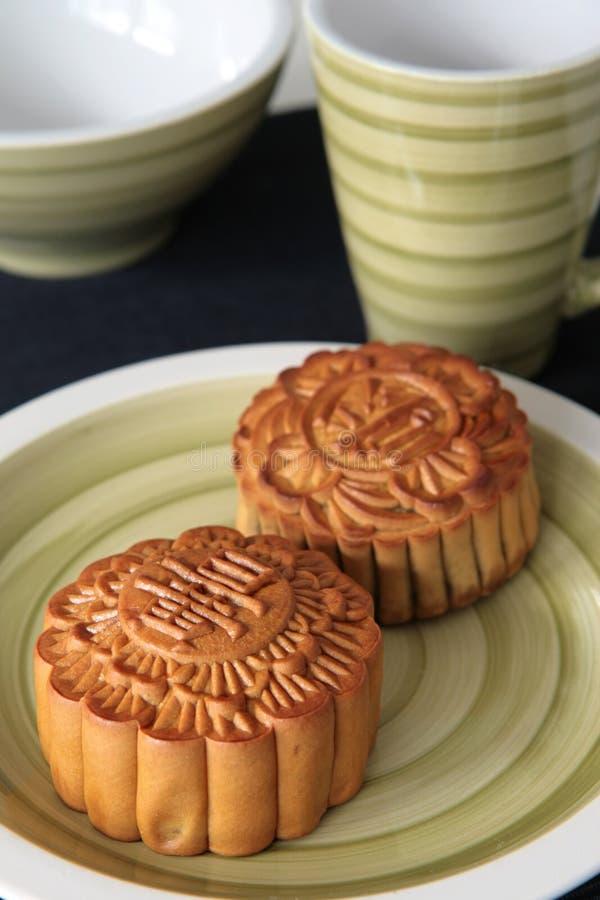 Mooncakes fotografia de stock