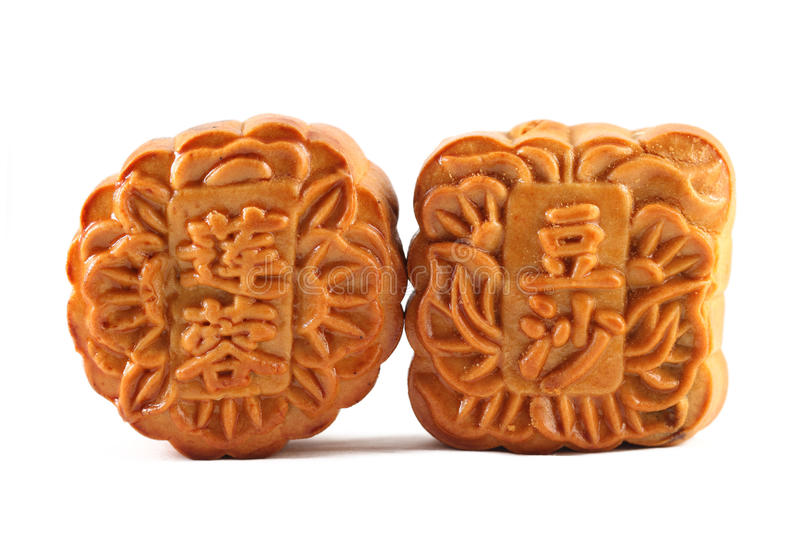 Mooncakes immagine stock