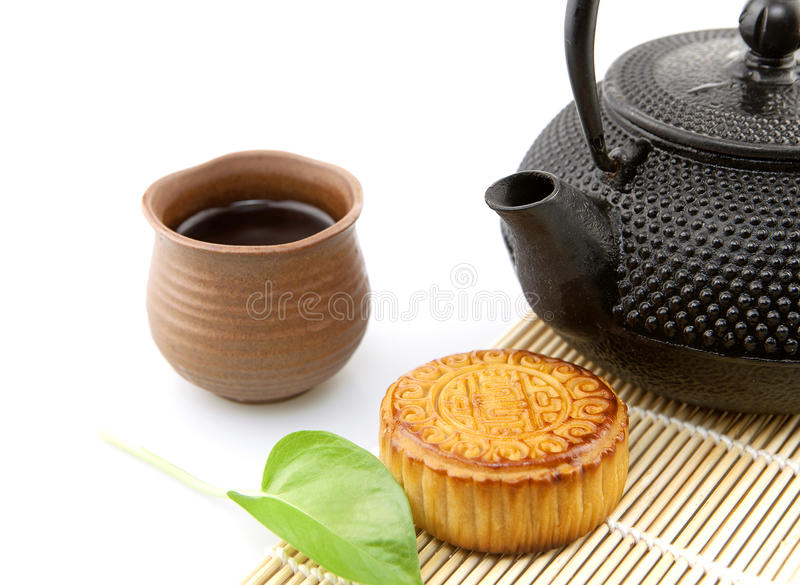 Mooncakes photographie stock libre de droits