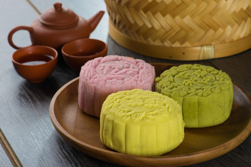 Mooncakes festival stock photo