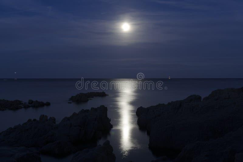 Moonen arkivbilder