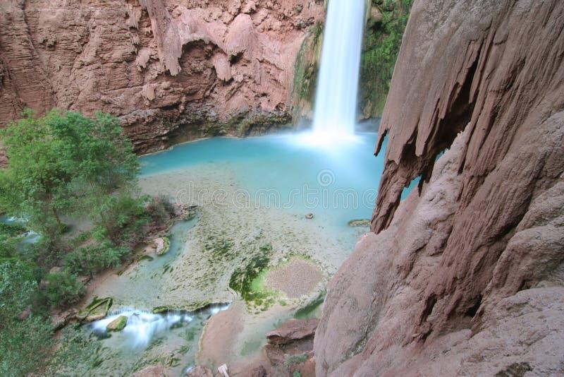 Download Mooney Falls stock image. Image of america, havasupai - 5367411