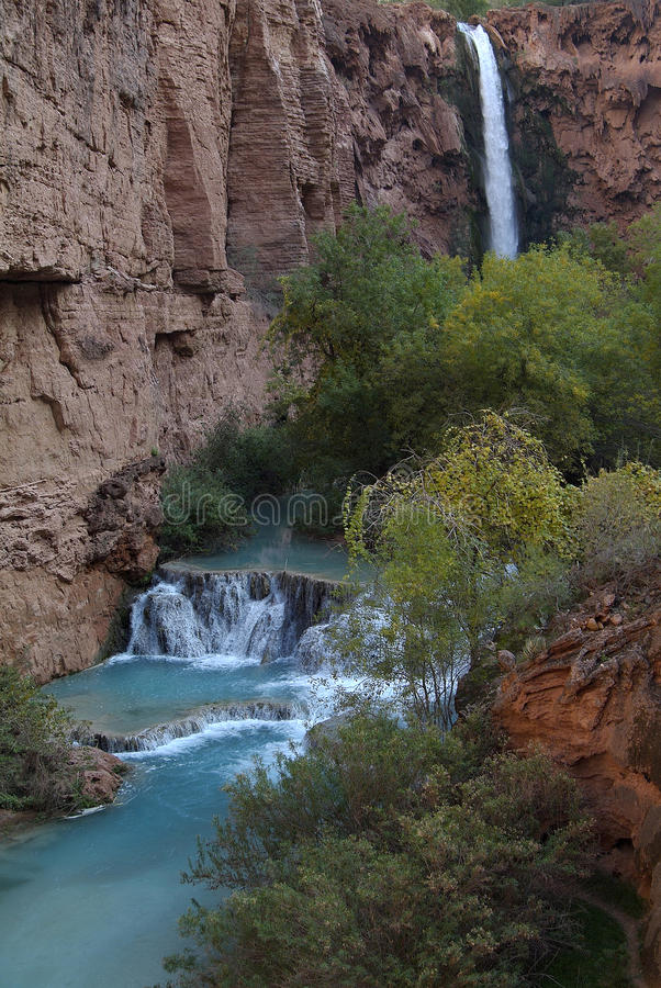 Mooney Falls 2 royalty free stock photos