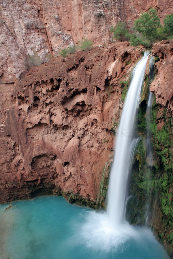 Mooney Falls, Arizona royalty free stock photography