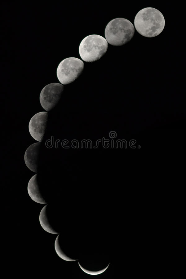 moonfaser royaltyfri fotografi